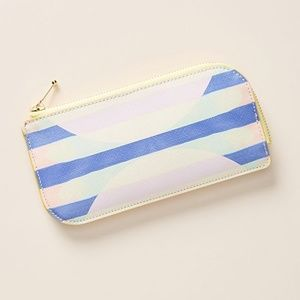 ✨NEW✨ ANTHROPOLOGIE Pastel Print Slim Wallet Pouch